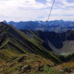 Anhalter Höhenweg mit Mittlerer Kreuzspitze und Stablsee © Gipfelfieber.com