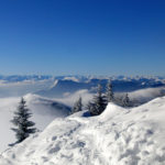 Wunderbare Aussicht auf die Alpen © Gipfelfieber.com