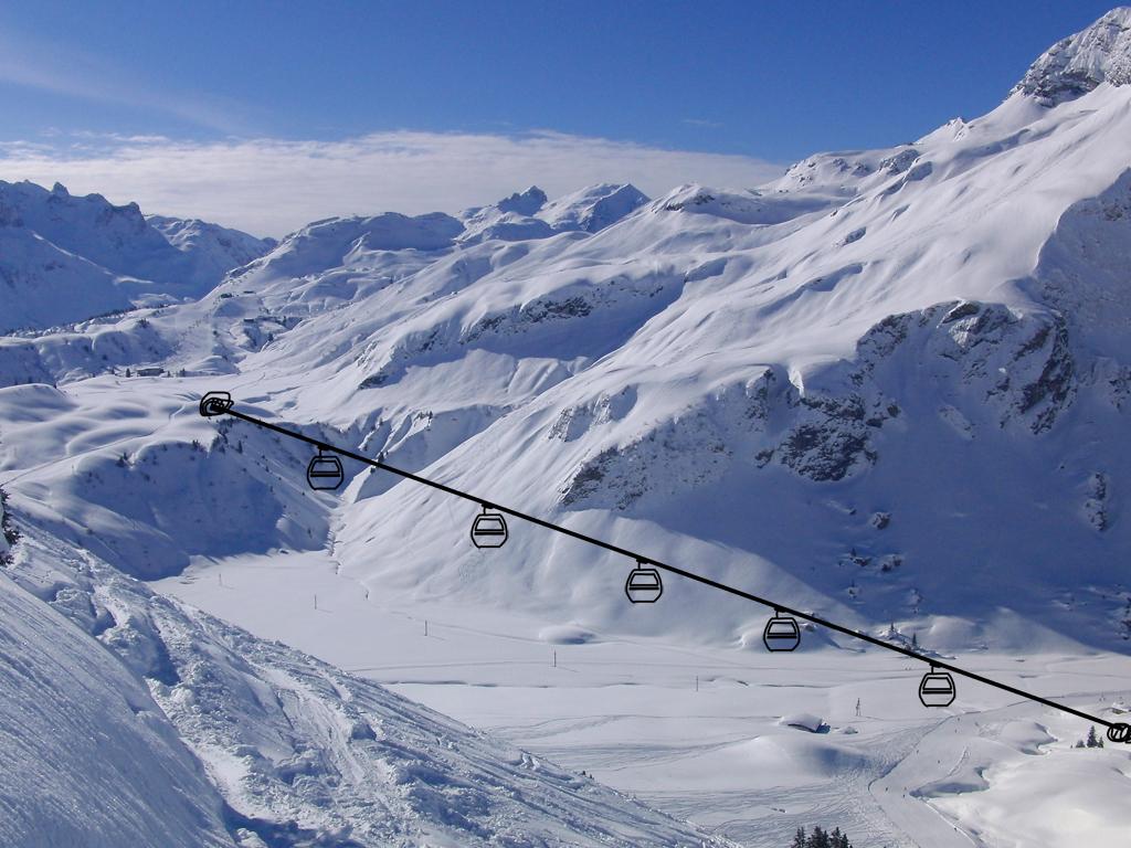 Verlauf des geplanten Auenfeldjets © Gipfelfieber.com