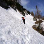 Schneefeld statt geteerter Weg © Gipfelfieber.com