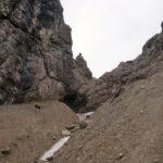 Einstieg in den Klettersteig am Ende des Schinderkars © Gipfelfieber.com