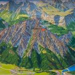Übersichtskarte Predigtstuhl © Gipfelfieber.com