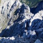 Wegverlauf im oberen Teil des Kaiserschützensteig © Gipfelfieber.com