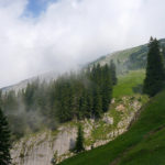 Der Gipfel des Schafreuter bzw. Schafreiter zeigt sich kurz © Gipfelfieber.com