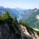 Blick vom Gipfel auf den Plansee © Gipfelfieber.com