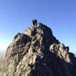 Eher unschwierige Stelle kurz nach dem Einstieg © Gipfelfieber.com