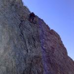 Ständig geht es im steilen Fels auf und ab © Gipfelfieber.com