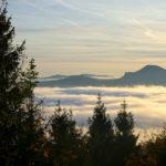 Morgendliche Wolken über Salzburg © Gipfelfieber.com