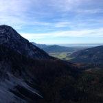 Der benachbarte Zwiesel und der Chiemsee © Gipfelfieber.com