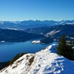 Der Walchensee liegt zu Füßen © Gipfelfieber.com