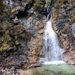Wasserfall in der Schleifmühlenklamm © Gipfelfieber.com