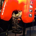 Weste mit integriertem Airbag von Mammut © Gipfelfieber.com