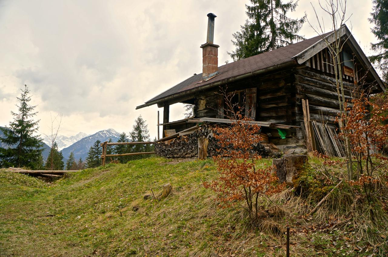 Die wunderschöne Friedl-Alm © Gipfelfieber.com
