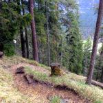 Vom Rißsattel geht es steil hinab © Gipfelfieber.com