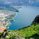 Blick in die Tiefe auf den Gardasee © Gipfelfieber.com