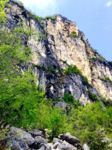Die erste Leiterpassage im Via dell` Amicizia © Gipfelfieber.com