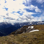 Panorama mit dem Gipfelplateau vom Vorderskopf © Gipfelfieber.com