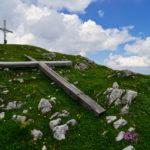 Altes & neues Gipfelkreuz am Vorderunnutz © Gipfelfieber.com