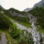 Wasserfall beim Aufstieg © Gipfelfieber.com