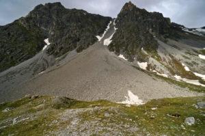 Schuttkar für den Abstieg © Gipfelfieber.com