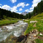Immer am Clemgia entlang © Gipfelfieber.com