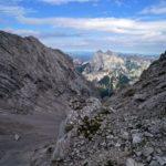 Blick ins Schuttkar der Ofentalschneid © Gipfelfieber.com