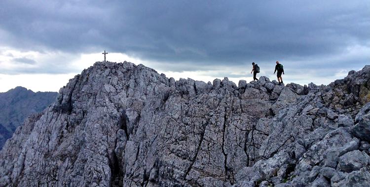 Gratwanderung: Die Hochkalter Überschreitung © Gipfelfieber.com