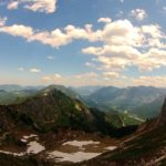 Blick zurück zum Brunnenkopf © Gipfelfieber.com