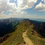 Grat am Gipfel und der Forggensee © Gipfelfieber.com