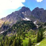 Der erste Blick auf die Große Klammspitze © Gipfelfieber.com