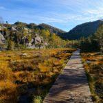 Der Weg führt teils über Holzplanken © Gipfelfieber.com
