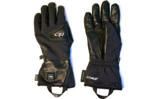 Gore Windstopper-Material und Leder auf der Innenseite © Gipfelfieber.com