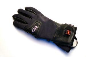 Der Handschuh im eingeschalteten Zustand © Gipfelfieber.com