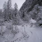 Verschneiter Steig © Gipfelfieber.com