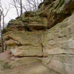 Die lange Wand nach der Höhle eignet sich perfekt für Querungen © Gipfelfieber.com