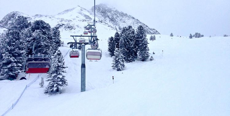 Schneereport #4 - Kühtai © Gipfelfieber.com