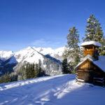 Kleine Hütte mit einem Aufbau für die Jagd © Gipfelfieber.com