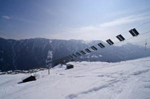 Der weltweit erste Solarskilift in Tenna © Gipfelfieber.com