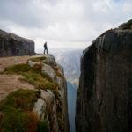 Am Rand der Kluft © Gipfelfieber.com