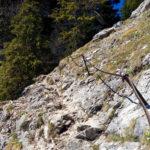Einfache Klettersteigpassagen © Gipfelfieber.com