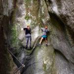 Glatte Wände, Drahtseil und Trittbügel © Gipfelfieber.com