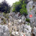 Der Einstieg in den Fausto Susatti Klettersteig © Gipfelfieber.com