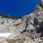 Der Einstieg in den Klettersteig auf die Pyramidenspitze © Gipfelfieber.com