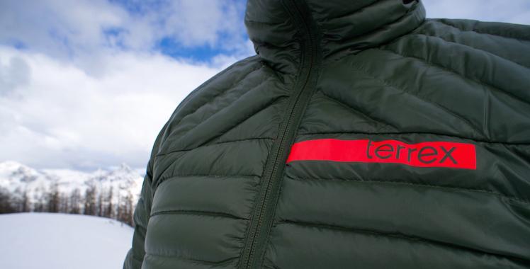 Daunenjacke im Test: Adidas Terrex Downblaze Jacket © Gipfelfieber.com