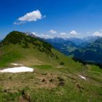 Der Sattel und die Abendspitze © Gipfelfieber.com