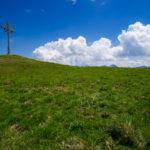 Das Gipfelkreuz vom Galtjoch © Gipfelfieber.com