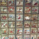 Die Bilderdecke in der Kirche von St. Martin © Gipfelfieber.com