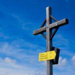 Das Gipfelkreuz am Feldberg © Gipfelfieber.com
