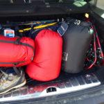 Der Kofferraum platzt © Gipfelfieber.com