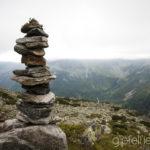 November: Steinmandl in den Hohen Tauern ©Gipfelfieber